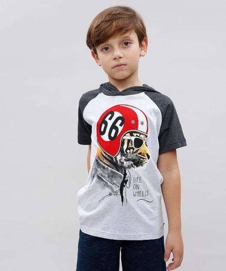 Camiseta-Infantil-Tigre-com-Capuz-Manga-Longa-Gola-Careca-Cinza-Mescla-Claro-9534154-Cinza_Mescla_Claro_1