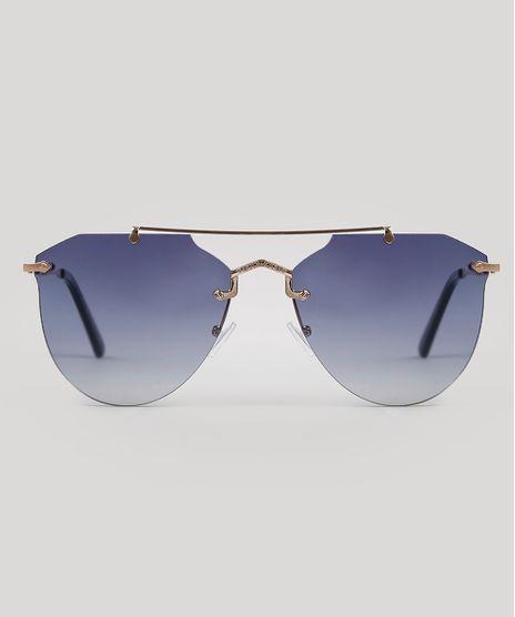 Oculos-de-Sol-Redondo-Feminino-Oneself-Azul-9631584-Azul_1