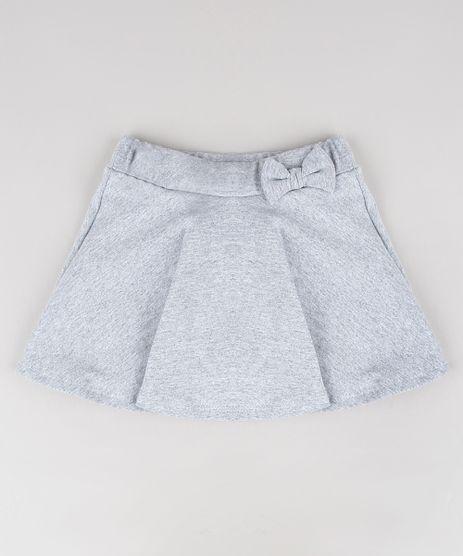 Short-Saia-Infantil-com-Glitter-e-Laco-Cinza-Mescla-9568240-Cinza_Mescla_1