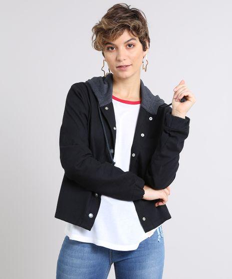 Jaqueta-Feminina-em-Flanela-com-Capuz-em-Moletom-Preta-9571381-Preto_1
