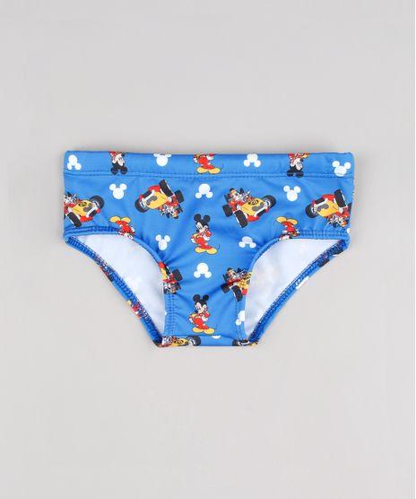 Sunga-Infantil-Mickey-Estampada-com-Protecao-UV-50-Azul-9519475-Azul_1
