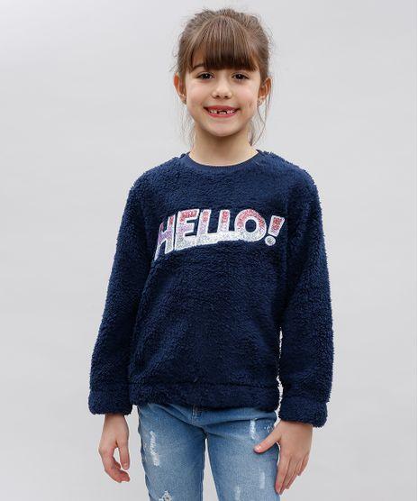Sueter-Infantil--Hello--em-Pelo-com-Paetes-Azul-Marinho-9362183-Azul_Marinho_1