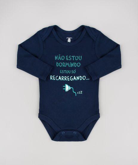 Body-Infantil--Estou-So-Recarregando--Manga-Longa-Azul-Marinho-9457046-Azul_Marinho_1