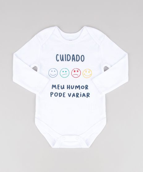 Body-Infantil--Cuidado-Meu-Humor-Pode-Variar--Manga-Longa-Branco-9457035-Branco_1