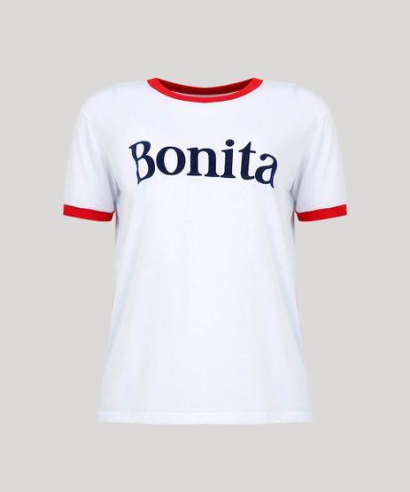 T-Shirt-Feminina-Mindset--Bonita--Manga-Curta-Decote-Redondo-Branca-9618495-Branco_5