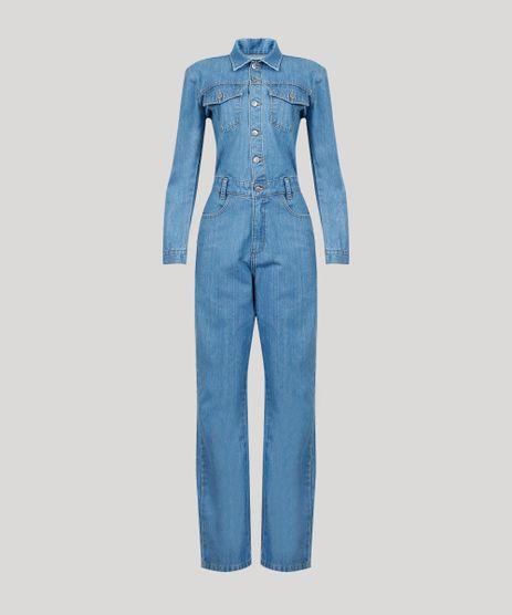 Macacao-Jeans-Feminino-Mindset-com-Bolsos-Manga-Longa-Azul-Claro-9638060-Azul_Claro_5