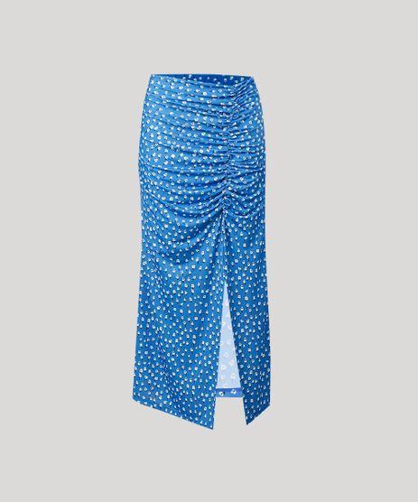 Saia-Feminina-Mindset-Midi-Estampada-Floral-com-Fenda-Azul-9651366-Azul_5