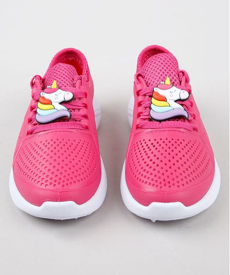 Tenis-Infantil-Esportivo-Running-com-Unicornio-Rosa-Escuro-9352361-Rosa_Escuro_1