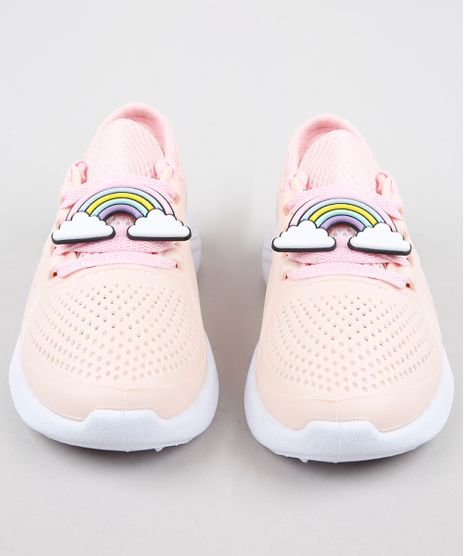 Tenis-Infantil-Esportivo-Running-com-Arco-Iris-Rose-9359290-Rose_1