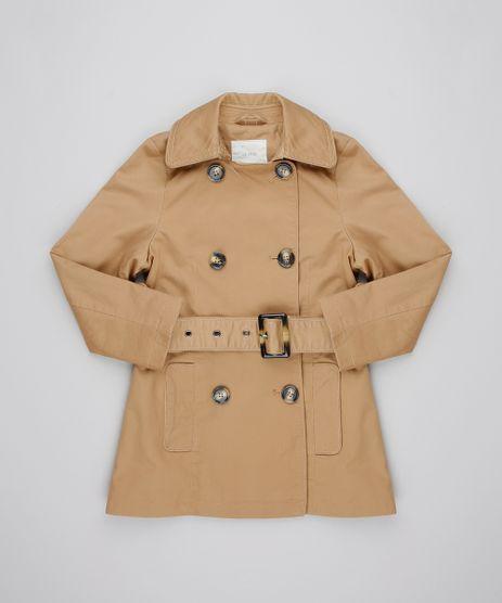 Casaco-Trench-Coat-Infantil-com-Bolsos-Caramelo-9431747-Caramelo_1