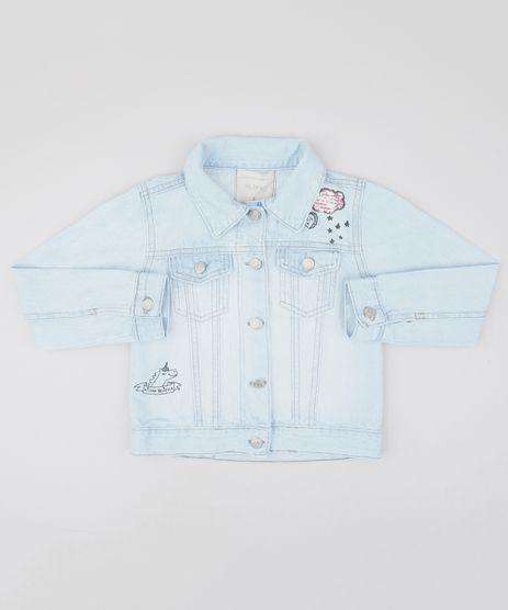 Jaqueta-Jeans-Infantil-com-Unicornio-e-Paetes-Azul-Claro-9554910-Azul_Claro_1