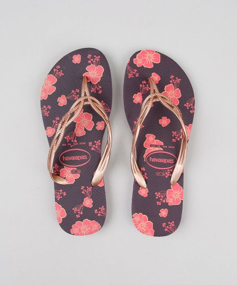 Chinelo-Feminino-Havaianas-com-Estampa-Floral-Roxo-Escuro-9598737-Roxo_Escuro_1