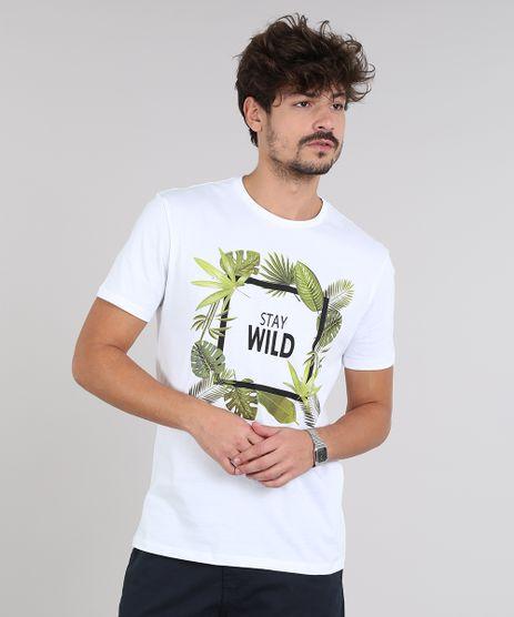 Camiseta-Masculina--Stay-Wild--Manga-Curta-Gola-Careca-Branca-9579947-Branco_1