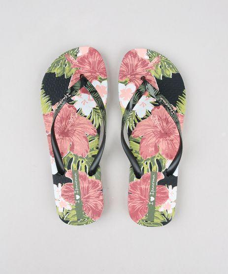 Chinelo-Feminino-Ipanema-Estampado-Floral-Preto-9604341-Preto_1