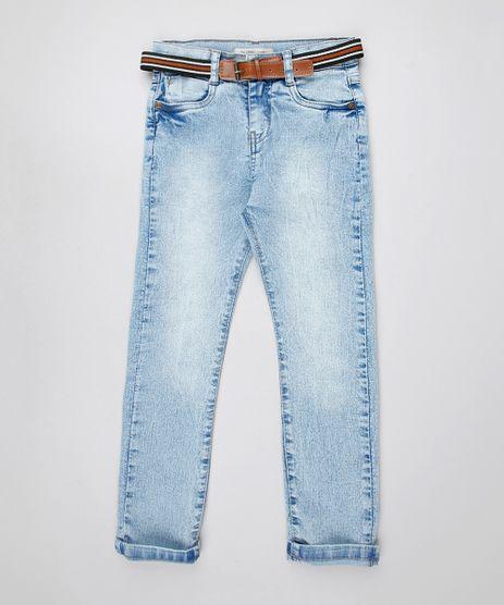 Calca-Jeans-Infantil-com-Cinto-Listrado-Azul-Claro-9549620-Azul_Claro_1