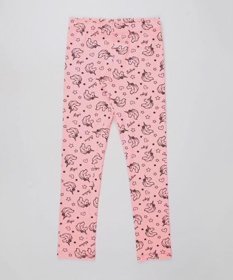 Calca-Legging-Infantil-Estampada-de-Unicornio-Rosa-9615899-Rosa_1