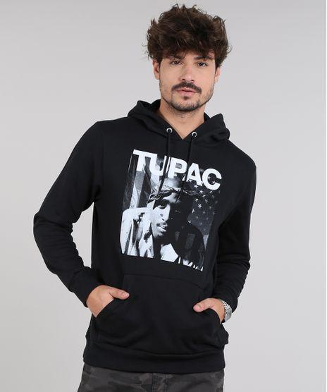 Blusao-Masculino-Tupac-em-Moletom-com-Capuz-Preto-9572643-Preto_1