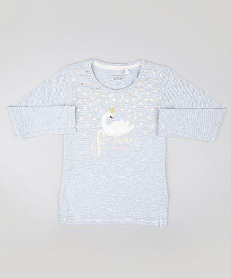 Blusa-Infantil-com-Bordado-de-Cisne-Manga-Longa-Cinza-Mescla-Claro-9587782-Cinza_Mescla_Claro_1