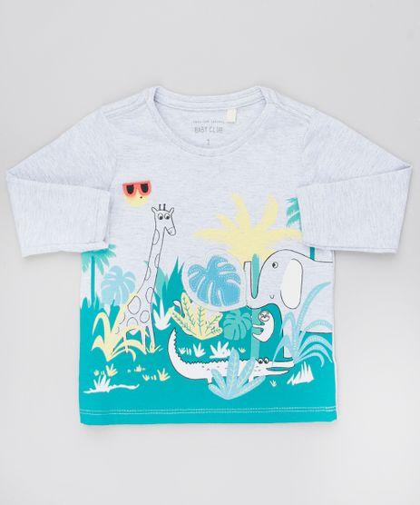 Camiseta-Infantil-com-Estampa-Interativa-Selva-Manga-Longa-Cinza-Mescla-Claro-9530757-Cinza_Mescla_Claro_1