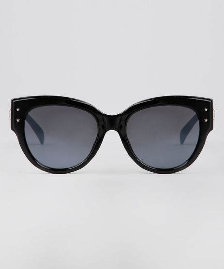 e02e1965a Oculos-de-Sol-Redondo-Feminino-Oneself-Preto-9640248-