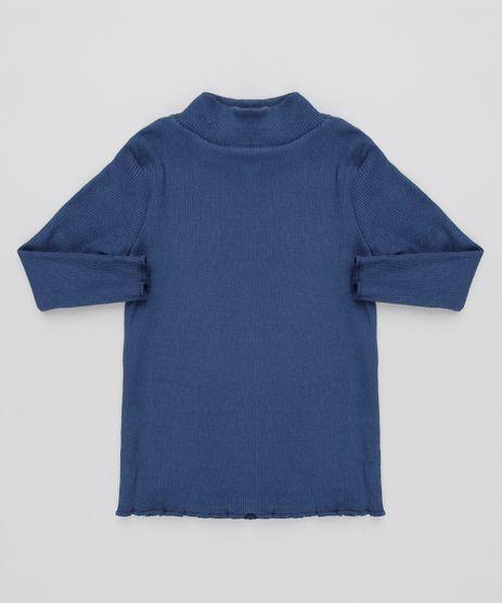 Blusa-Infantil-Canelada-Manga-Longa-Gola-Alta-Azul-Marinho-9597876-Azul_Marinho_1