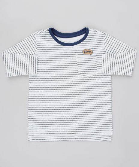 Camiseta-Infantil-Listrada-com-Bolso-Manga-Longa-Branca-9531221-Branco_1