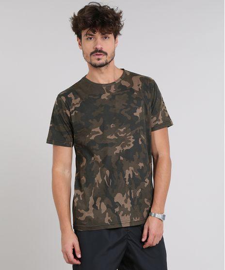 Camiseta-Masculina-Estampada-Camuflada-Manga-Curta-Gola-Careca-Verde-Militar-9540844-Verde_Militar_1