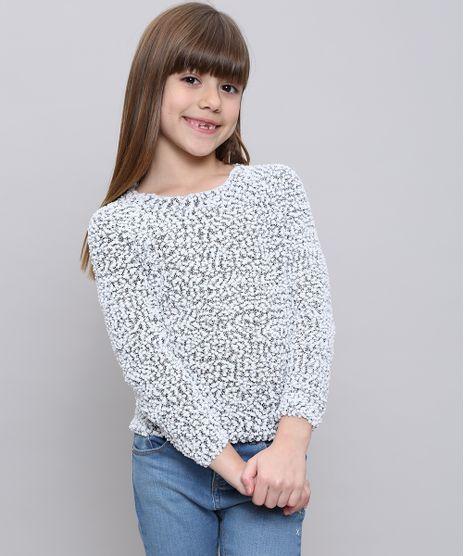 Sueter-Infantil-em-Trico-Texturizado-Branco-9347629-Branco_1