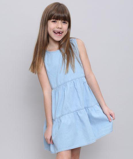 Vestido-Jeans-Infantil-com-Recortes-Sem-Manga-Azul-Claro-9583437-Azul_Claro_1