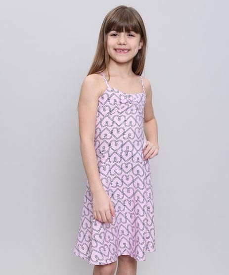 Vestido-Infantil-Estampado-de-Coracoes-com-No-Alca-Fina-Rosa-Claro-9372894-Rosa_Claro_1
