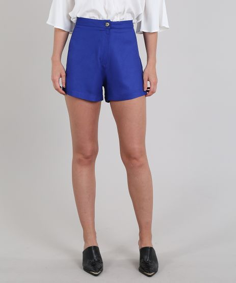 Short-Feminino-com-Botao-Azul-9570416-Azul_1