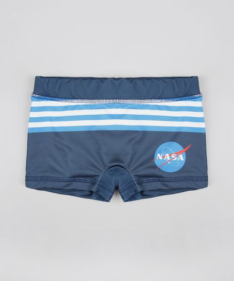 Sunga-Boxer-Infantil-Lunar-com-Listras-Protecao-UV50--Chumbo-9431568-Chumbo_1