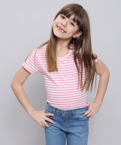 Blusa-Infantil-Listrada-Manga-Curta-Rosa-Claro-9552398-Rosa_Claro_1