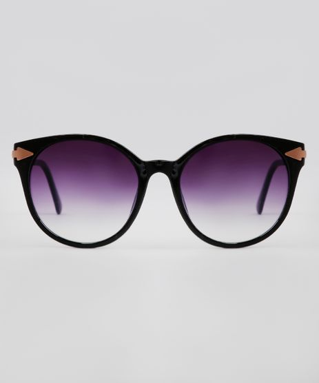 Oculos-de-Sol-Redondo-Feminino-Oneself-Preto-9640449-Preto_1