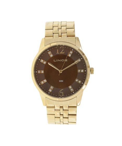 ffd68980445 Relógio Lince Analógico Feminino - LRGJ044L-N2KX Dourado - cea