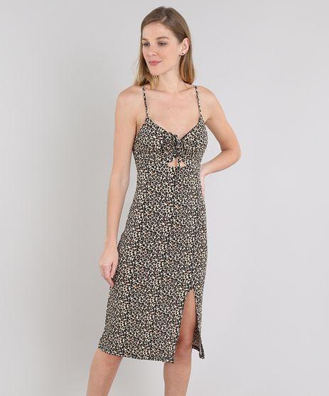 Vestido-Feminino-Midi-Estampado-Animal-Alca-Fina-Bege-Claro-9596217-Bege_Claro_1
