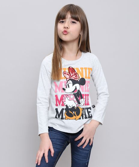 Blusa-Infantil-Minnie-com-Paete-Manga-Longa-Cinza-Mescla-Claro-9547653-Cinza_Mescla_Claro_1