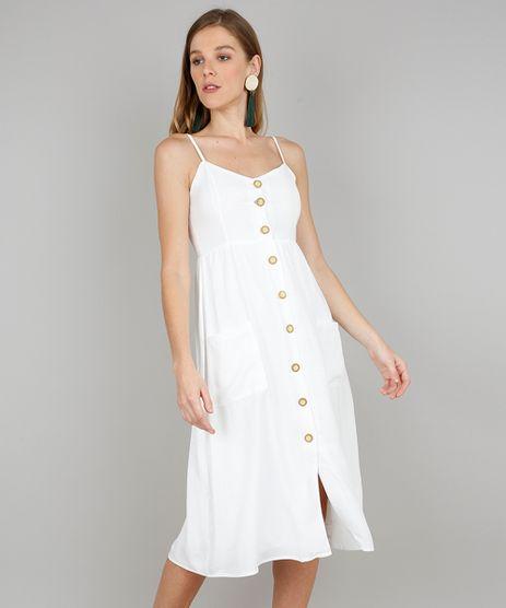 Vestido-Feminino-Midi-com-Bolsos-e-Botoes-Alca-Fina-Off-White-9569789-Off_White_1
