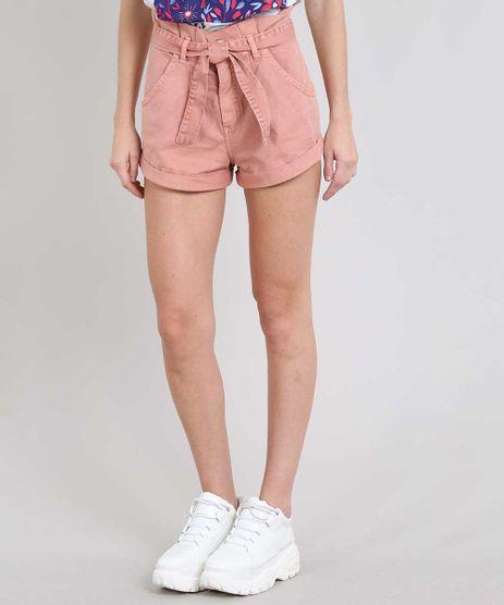 Short-Jeans-Feminino-Clochard-com-Barra-Dobrada--Rose-9594606-Rose_1