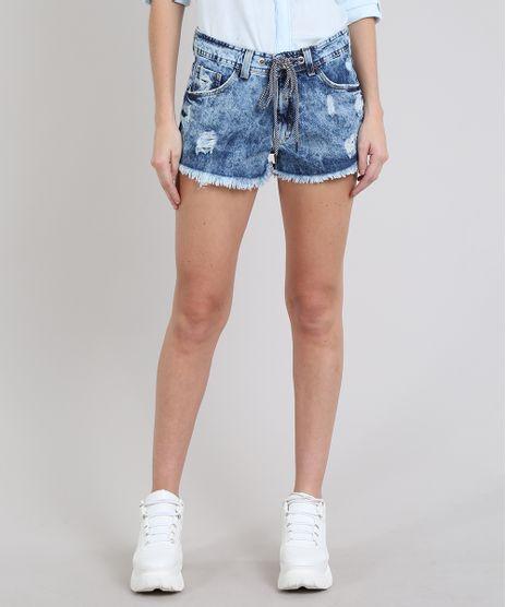 Short-Jeans-Feminino-Relaxed-Destroyed-com-Cadarco-Azul-Medio-9594612-Azul_Medio_1