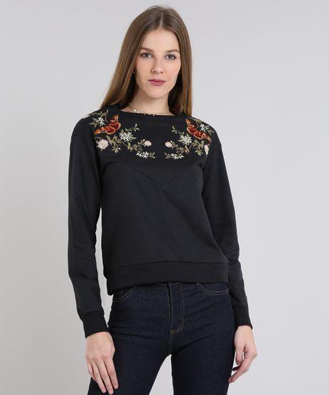Blusao-Feminino-em-Moletom-com-Bordado-Floral-Preto-9585574-Preto_1