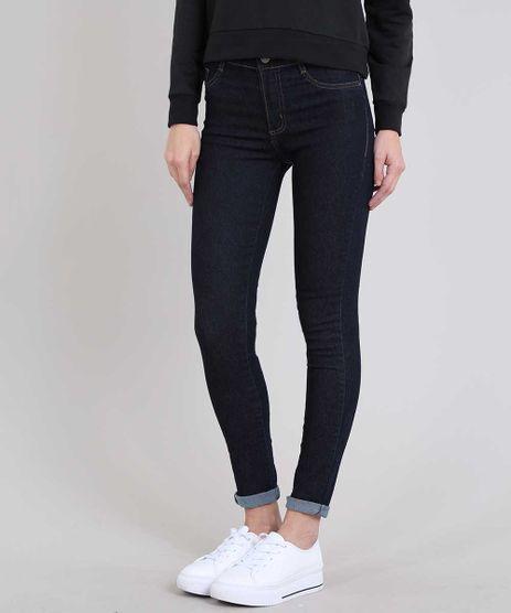 Calca-Jeans-Feminina-Hot-Pant-Sawary-Skinny--Azul-Escuro-9619277-Azul_Escuro_1