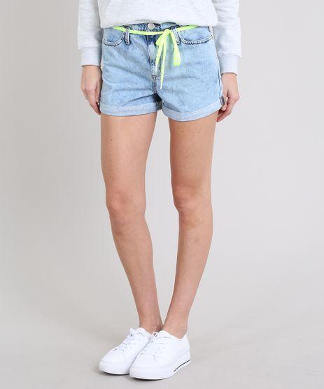 Short-Jeans-Feminino-Mom-com-Cadarco-Barra-Dobrada-Azul-Claro-9573585-Azul_Claro_1