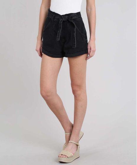 Short-Jeans-Feminino-Clochard-com-Barra-Dobrada--Preto-9594605-Preto_1