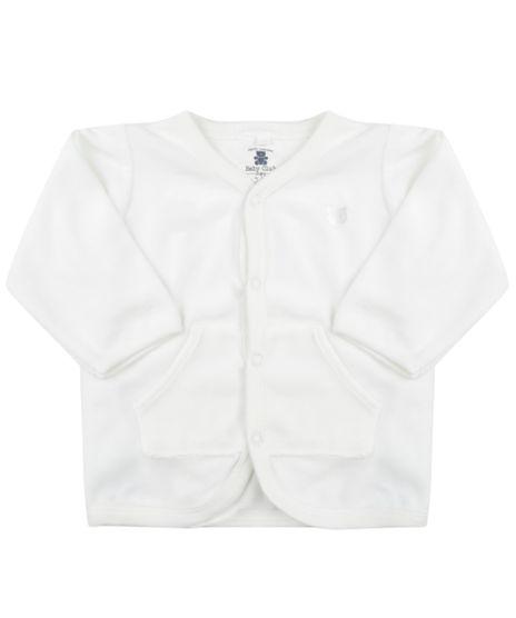 Cardigan-Unissex-em-Plush-de-Algodao---Sustentavel--Branco-8479651-Branco_1