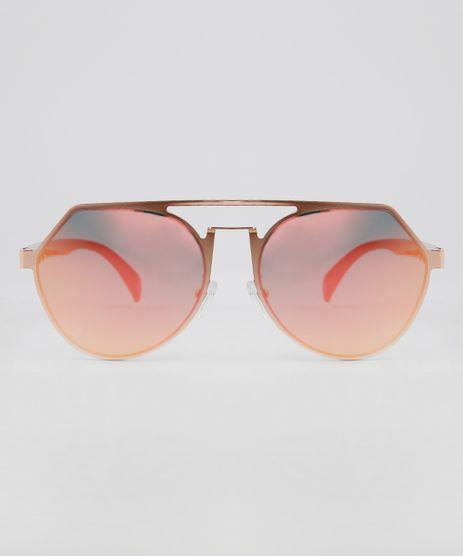 Oculos-de-Sol-Redondo-Feminino-Oneself-Rose-9636173-Rose_1