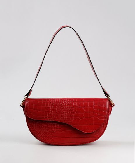 Bolsa-Feminina-Media-Croco-com-Alca-de-Ombro-Vermelha-9485388-Vermelho_1