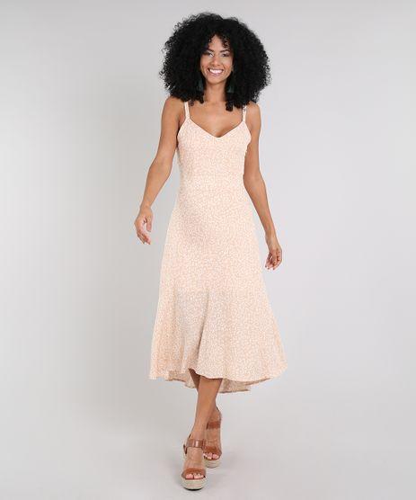 Vestido-Feminino-Midi-Mullet-Estampado-Animal-Print-Alca-Fina-Bege-9577081-Bege_1