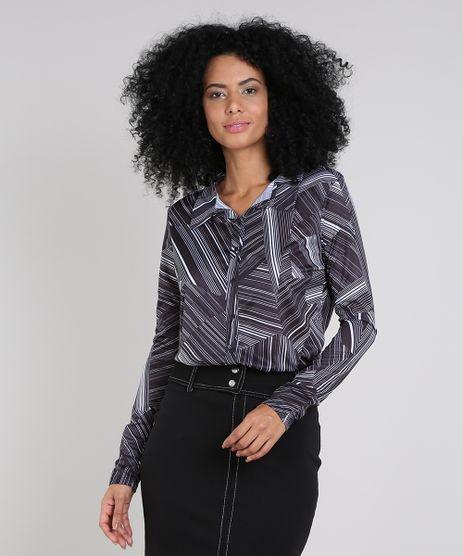 Camisa-Feminina-Estampada-Manga-Longa-Preta-9557502-Preto_1