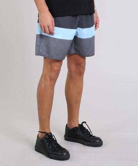 Short-Masculino-Listrado-com-Bolsos-Azul-9535126-Azul_1